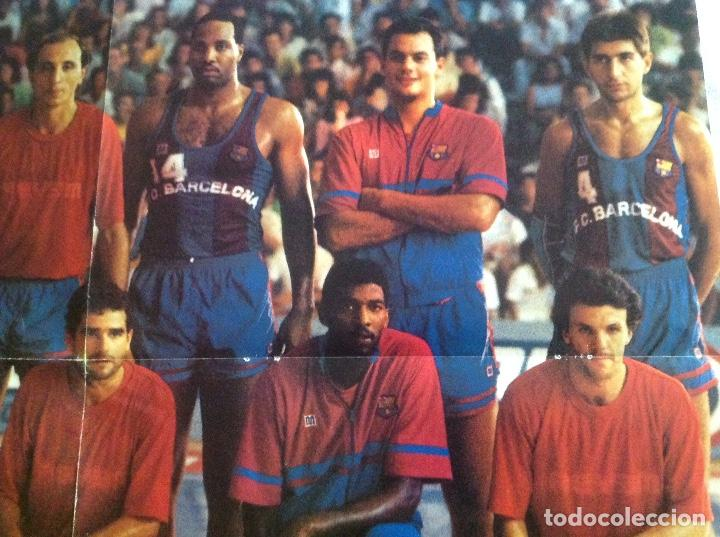 Coleccionismo deportivo: POSTER BARCELONA 1987 BALONCESTO - Foto 7 - 106956431