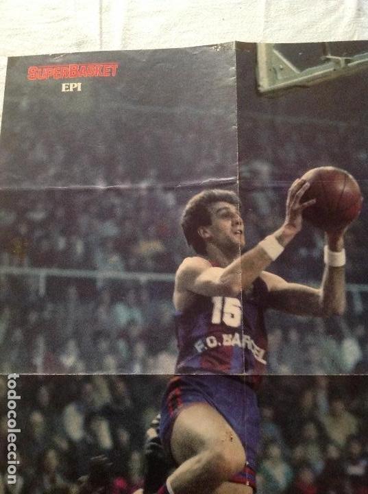 Coleccionismo deportivo: POSTER EPI, BARCELONA BALONCESTO - Foto 2 - 106954455