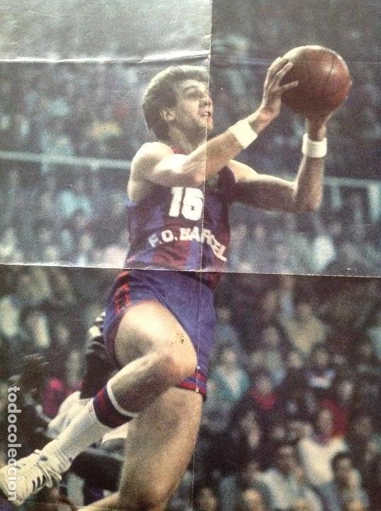 Coleccionismo deportivo: POSTER EPI, BARCELONA BALONCESTO - Foto 4 - 106954455
