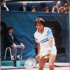 Coleccionismo deportivo: CARTEL DE HENRI LECONTE PUBLICIDAD DE LACOSTE. Lote 108028719