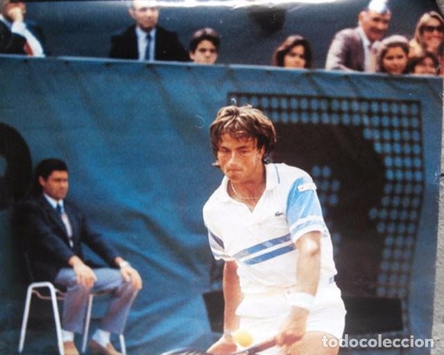 Coleccionismo deportivo: Cartel De Henri Leconte Publicidad De Lacoste - Foto 2 - 108028719