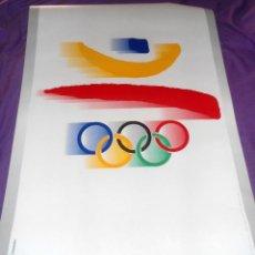 Coleccionismo deportivo: PÓSTER / CARTEL OLIMPIADA BARCELONA 92. Lote 109571119