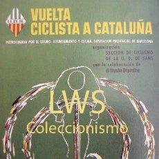 Coleccionismo deportivo: VUELTA CICLISTA A CATALUÑA GRAN PREMIO WYNN'S - PUBLICIDAD IMÁGENES - CICLISMO - BICICLETAS S-3 . Lote 110579167