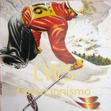 Coleccionismo deportivo: II CONCURSO INTERNACIONAL NURIA 1951 - PUBLICIDAD IMÁGENES DEPORTES ESQUÍ S-3. Lote 195149010
