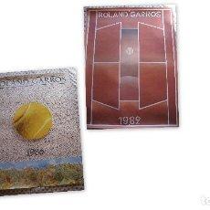 Coleccionismo deportivo: 2 CARTELES ORIGINALES DE ROLAND GARROS. Lote 111059283