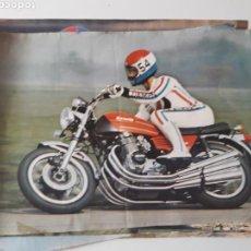 Coleccionismo deportivo: 11 POSTERS MOTOCICLISMO DE REVISTAS MOTOS. Lote 111351556