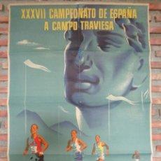 Coleccionismo deportivo: XXXVII CAMPEONATO DE ESPAÑA A CAMPO TRAVIESA .LASARTE.C.-80. Lote 115367899