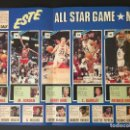 Coleccionismo deportivo: POSTER MICHAEL JORDAN. ALL STAR MIAMI. DESPLEGABLE. Lote 117643719