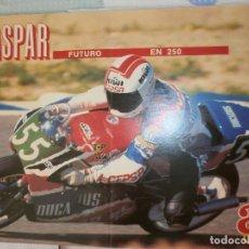 Coleccionismo deportivo: POSTER JORGE MARTINEZ ASPAR AS. Lote 120025747
