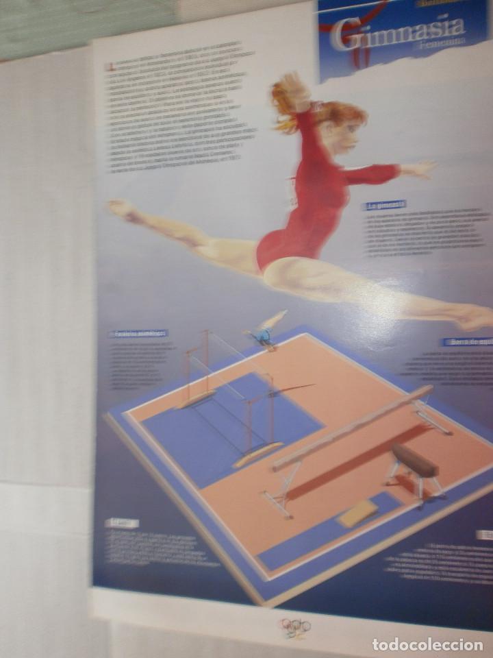 19 LÁMINAS OLIMPIADAS BARCELONA 1992 EL PAÍS (Coleccionismo Deportivo - Carteles otros Deportes)