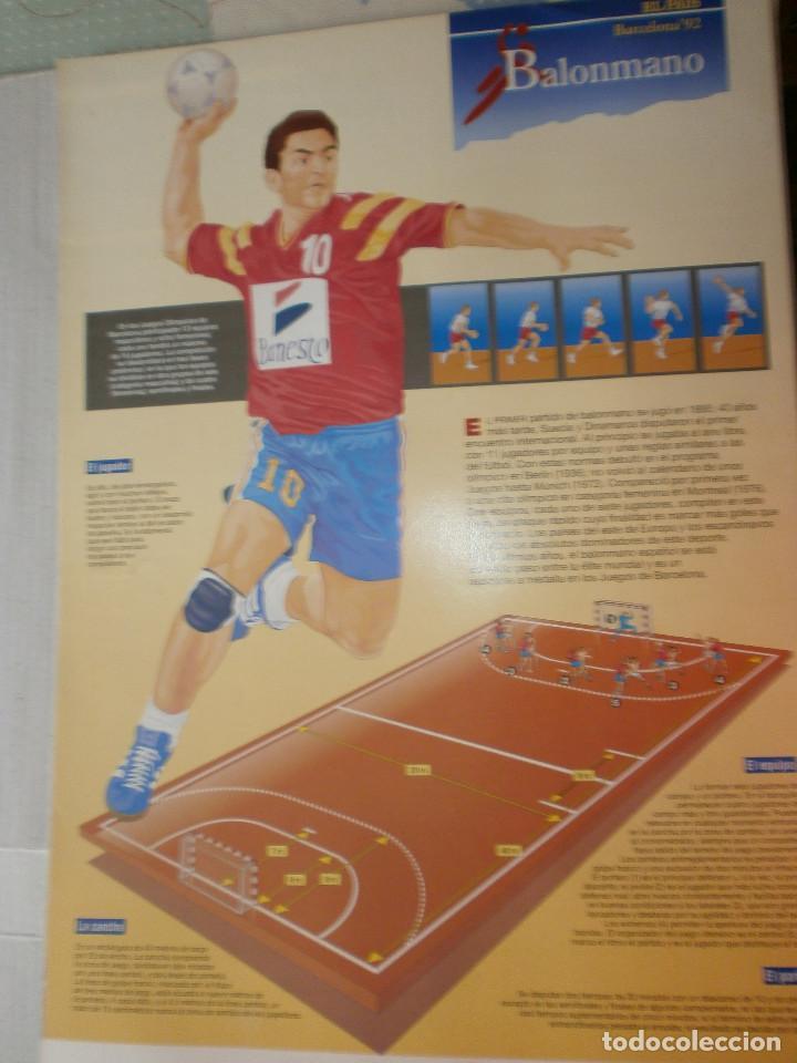 Coleccionismo deportivo: 19 láminas Olimpiadas Barcelona 1992 El País - Foto 6 - 120027343