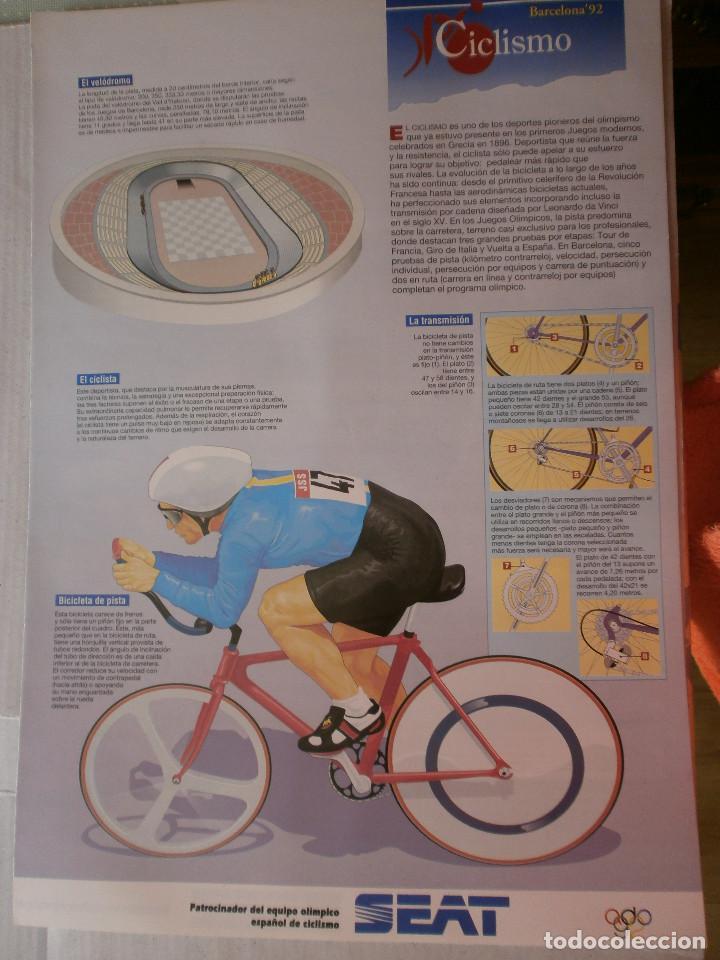 Coleccionismo deportivo: 19 láminas Olimpiadas Barcelona 1992 El País - Foto 7 - 120027343