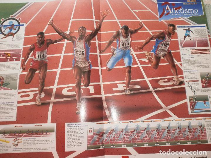 Coleccionismo deportivo: 19 láminas Olimpiadas Barcelona 1992 El País - Foto 9 - 120027343