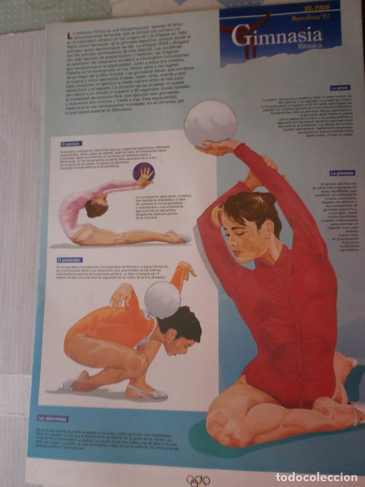 Coleccionismo deportivo: 19 láminas Olimpiadas Barcelona 1992 El País - Foto 15 - 120027343
