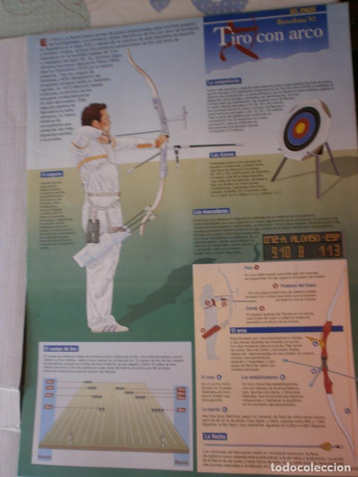 Coleccionismo deportivo: 19 láminas Olimpiadas Barcelona 1992 El País - Foto 19 - 120027343