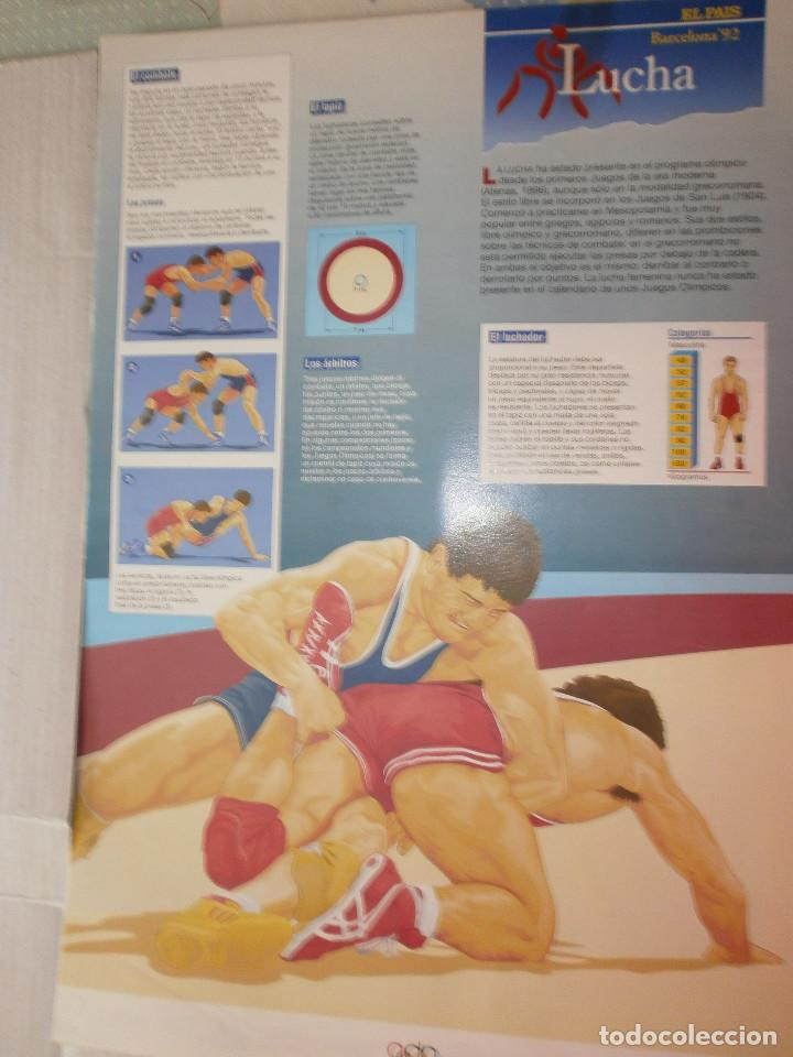 Coleccionismo deportivo: 19 láminas Olimpiadas Barcelona 1992 El País - Foto 21 - 120027343