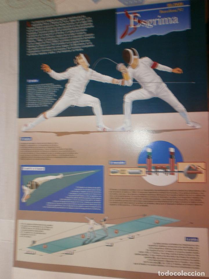 Coleccionismo deportivo: 19 láminas Olimpiadas Barcelona 1992 El País - Foto 23 - 120027343