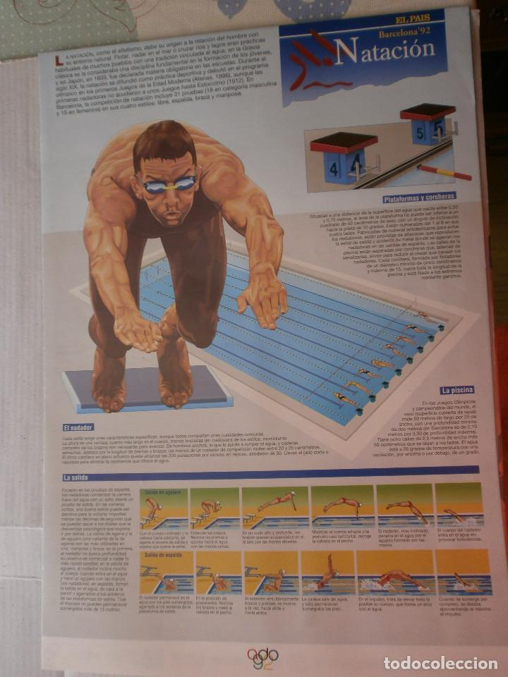 Coleccionismo deportivo: 19 láminas Olimpiadas Barcelona 1992 El País - Foto 25 - 120027343