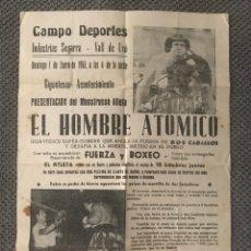 Coleccionismo deportivo: VALL DE UXO (CASTELLÓN) EL HOMBRE ATÓMICO . CAMPO DEPORTES (A.1961). Lote 121445556