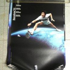 Coleccionismo deportivo: BADMINTON CARTEL OLIMPIADAS BARCELONA 92. MED. 70 X 50 CM. Lote 122325039