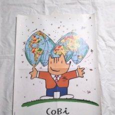 Coleccionismo deportivo: COBI OLIMPIADA BARCELONA 92, CARTEL OFICIAL JUEGOS DE MARISCAL. MED. 50 X 70 CM. Lote 122904615