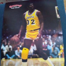 Coleccionismo deportivo: POSTER GIGANTES DEL BASKET MAGIC JOHNSON. Lote 124221799