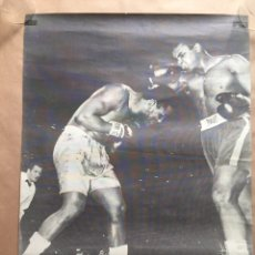 Coleccionismo deportivo: PÓSTER CASSIUS CLAY V JOE FRAZIER. 1972. Lote 124702907