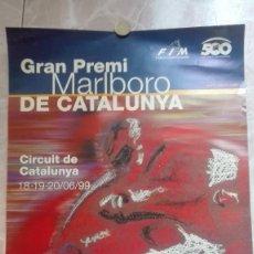 Coleccionismo deportivo: CARTEL ORIGINAL GRAN PREMI MARLBORO DE CATALUNYA 1999. Lote 129018143