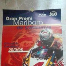 Coleccionismo deportivo: CARTEL ORIGINAL GRAN PREMI MARLBORO DE CATALUNYA 1998. Lote 129018275