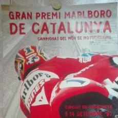 Coleccionismo deportivo: CARTEL ORIGINAL GRAN PREMI MARLBORO DE CATALUNYA 1997. Lote 129018371