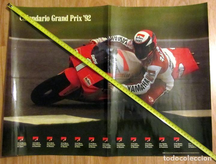 POSTER MOTOCICLISMO GRAND PRIX 92 MOTO GP MARLBORO WORLD CHAMPIONSHIP TEAM (Coleccionismo Deportivo - Carteles otros Deportes)