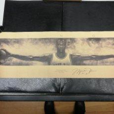 Coleccionismo deportivo: LAMINA POSTER DE MICHAEL JORDAN WINGS 73X24 CM. . Lote 130110447