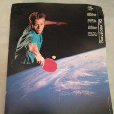 Coleccionismo deportivo: BARCELONA. OLIMPIADAS '92. PÓSTER. Lote 130730403