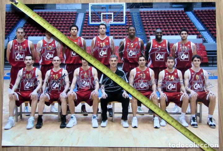 POSTER BALONCESTO BASKET BALL CAI ZARAGOZA (Coleccionismo Deportivo - Carteles otros Deportes)