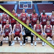 Coleccionismo deportivo: POSTER BALONCESTO BASKET BALL CAI ZARAGOZA. Lote 132135558