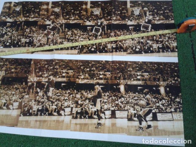 Coleccionismo deportivo: MEGA POSTER CARTEL ADIDAS ( KOBE BRYANT, L,A, LAKERS ) CAMPEON DE MATES NBA 8 FEBRERO 1997 DE 80X57 - Foto 4 - 133774570