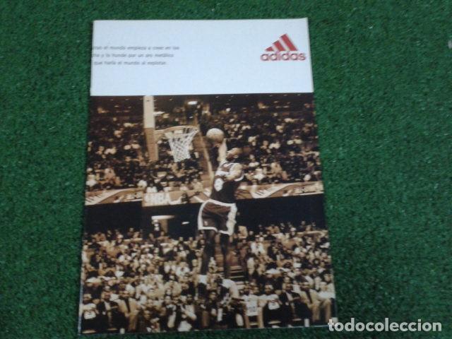 Coleccionismo deportivo: MEGA POSTER CARTEL ADIDAS ( KOBE BRYANT, L,A, LAKERS ) CAMPEON DE MATES NBA 8 FEBRERO 1997 DE 80X57 - Foto 9 - 133774570