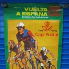 Coleccionismo deportivo: CARTEL VUELTA A ESPAÑA 1982. M 68X47 CM. Lote 134828002