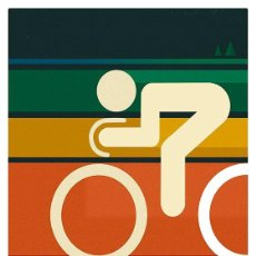 Coleccionismo deportivo: SIGNALNOISE. CANADA. CICLISMO. BICICLETA. LÁMINA CARTEL 45 X 32 CMS.. Lote 134838978