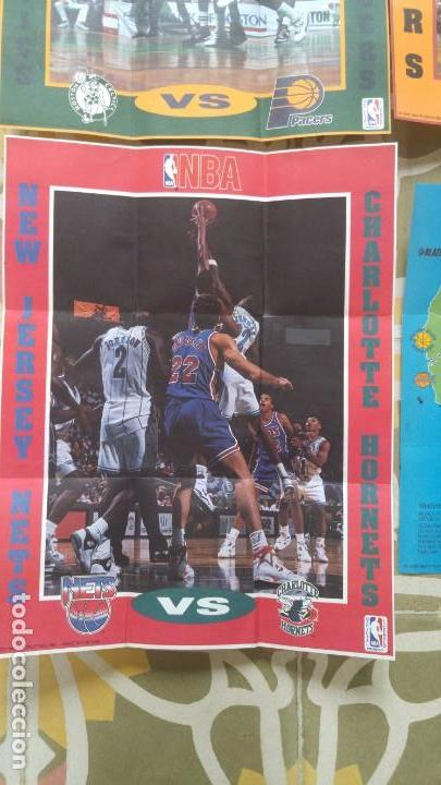 Coleccionismo deportivo: 4 POSTERS NBA AÑO 1992 MADE IN THE USA - Foto 4 - 136370630