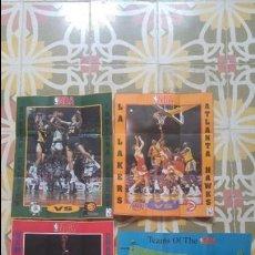 Coleccionismo deportivo: 4 POSTERS NBA AÑO 1992 MADE IN THE USA. Lote 136370630
