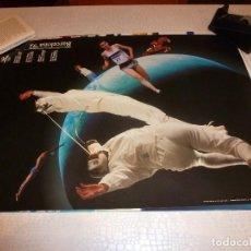 Coleccionismo deportivo: CARTEL-POSTER ORIGINAL (50 X 70) OLIMPIADAS BARCELONA-1992.. Lote 137873278