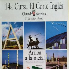 Coleccionismo deportivo: POSTER CARTEL BARCELONA 92. 43X70 CENTÍMETROS. Lote 139711438