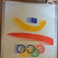 Coleccionismo deportivo: CARTEL LOGO OLIMPIADAS BARCELONA 92. Lote 140472714
