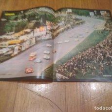 Coleccionismo deportivo: POSTER AUTOPISTA 1969 SALIDA DE LOS 1000 KILOMETROS SPA 46X32. Lote 140815566