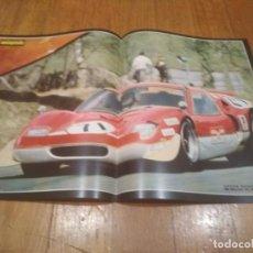 Coleccionismo deportivo: POSTER AUTOPISTA 1969 LOTUS EUROPA RACING 500 MILLAS DE BRANDS HATCH 46X32. Lote 140815582