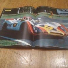 Coleccionismo deportivo: POSTER AUTOPISTA 1970 TEMPORADA ARGENTINA JUAN FERNANDEZ PORSCHE 46X32. Lote 140815606