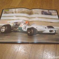 Coleccionismo deportivo: POSTER AUTOPISTA 1970 GP SUDAFRICA 70. STOMMELEN BRABHAM FORD 46X32. Lote 140815622