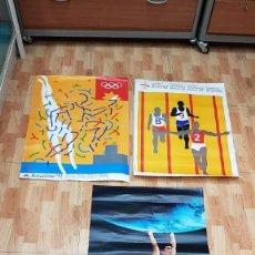 Coleccionismo deportivo: LOTE 3 POSTE BARCELONA 92 OLIMPIADAS. Lote 140937254