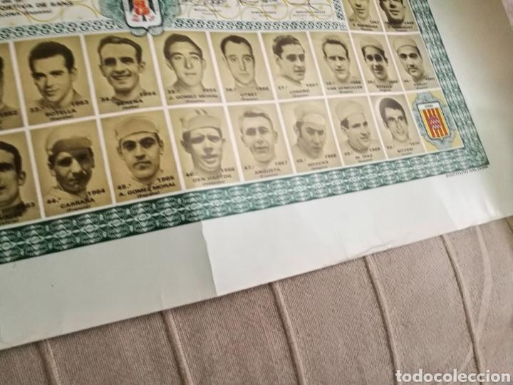 Coleccionismo deportivo: DIPLOMA CINCUENTENARIO UNION DEPORTIVA CICLISTA SANS 1971.Todos los campeones de la «Volta» ciclista - Foto 5 - 144009305